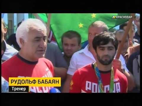 В Краснодар вернулся выигравший первое золото ОИ дзюдоист Мудранов