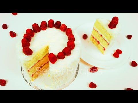 Как сделать малиновый торт летний в моей кофейне 622