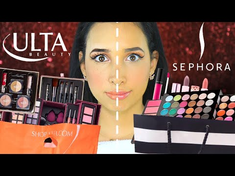 SEPHORA COLLECTION vs ULTA COLLECTION - BRUTALLY HONEST REVIEW   Mar