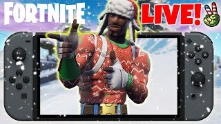Best Fortnite Nintendo Switch Player! (Santa Is Coming To Town!)