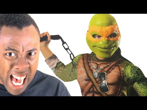 NINJA TURTLES Costume Ruins the Movie! : Black Nerd Rants