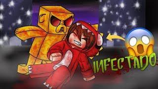 MINECRAFT .EXE: ¡RETO DE LA BASE VS INFECCIÓN! 😱💉 ¡NADIE SOBREVIVIRÁ! A INFECTION #1!