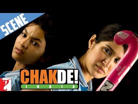 Komal Vs Preity - Scene - Chak De India