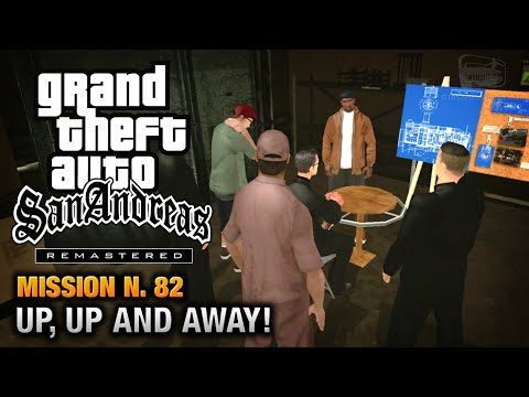 Gta San Andreas Remastered - Mission #82 - Up, Up And Away! (xbox 360) video