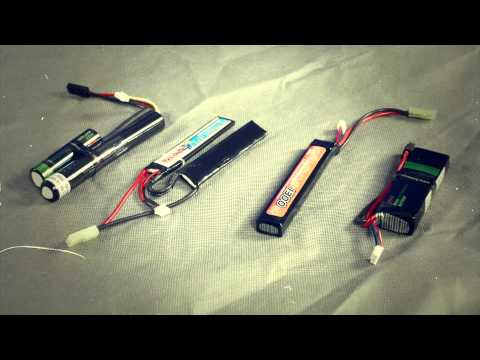 Airsoft Megastore Batteries and Chargers - AMS Tips And Tricks