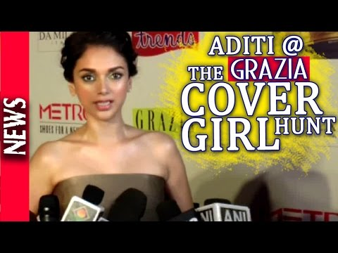 Latest Bollywood News - Aditi Unveils Grazia Magazine's Cover Girl Hunt - Bollywood Gossip 2015