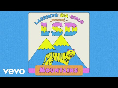 Download Lagu  LSD - Mountains  Audio ft. Sia, Diplo, Labrinth Mp3 Free