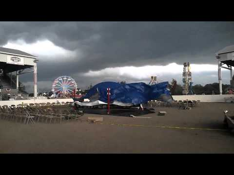 Storm Cancels Wrestling and Mercer County Fair 7/18/2012
