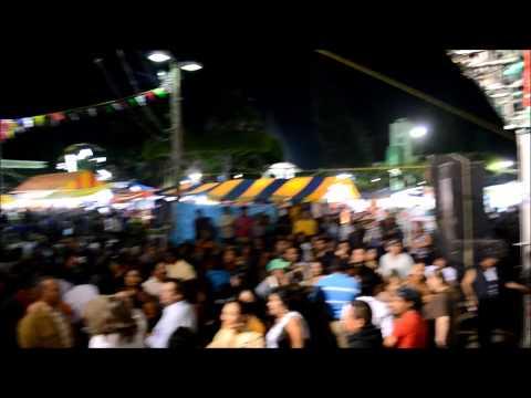 Internacional Marimba Reyna Fraylescana en feria de Villaflores 2015