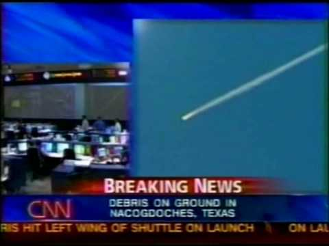 CNN  Coverage of STS-107 Part 19  (The Columbia Disaster)