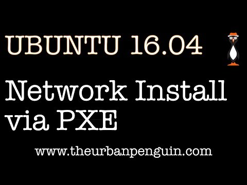 Install Ubuntu 16.04 via PXE and network boot