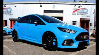 Ford Focus RS MK3 Blue Edition