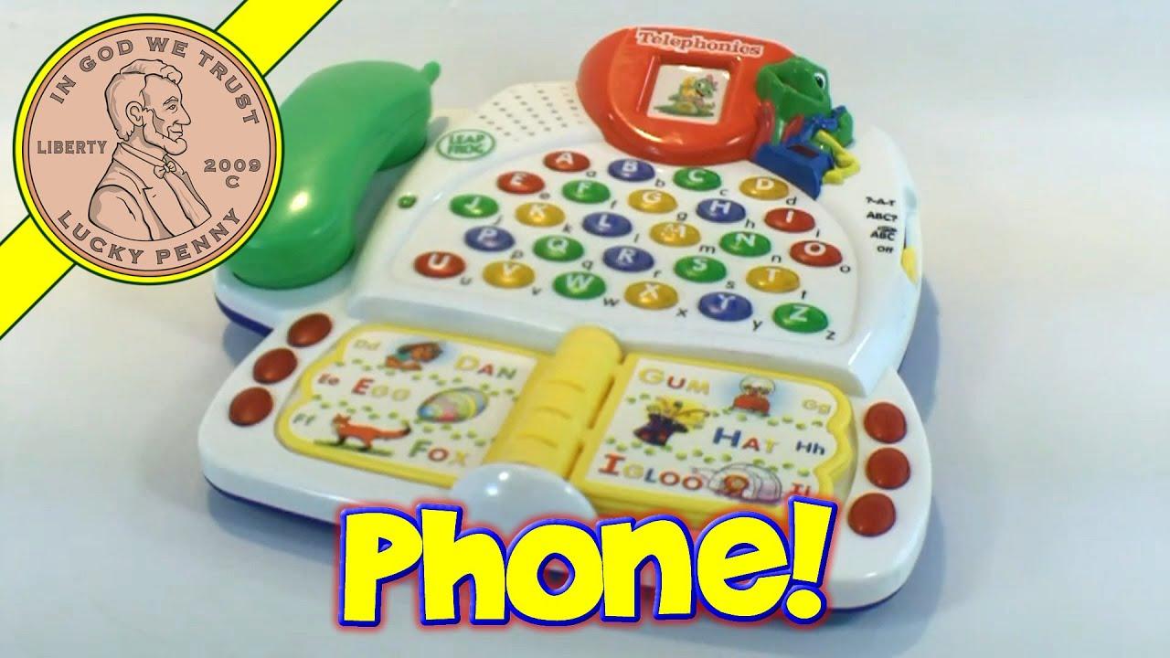Leap Frog Telephonics Telephone Alphabet Toy Phone Youtube