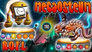 Monster Legends - Megaosteum Y R.O.F.L. [NIVEL 110] - COMBATES EN PVP.