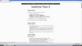 download lagu Download Sublime Text 3 gratis