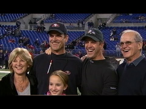 Super Bowl 2013 Baltimore Ravens Vs San Francisco 49ers: Harbaugh Brothers' Sibling Rivalry