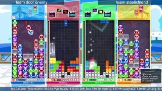 [Stream] Puyo Puyo Tetris vs Steelix || Doubles Tournament