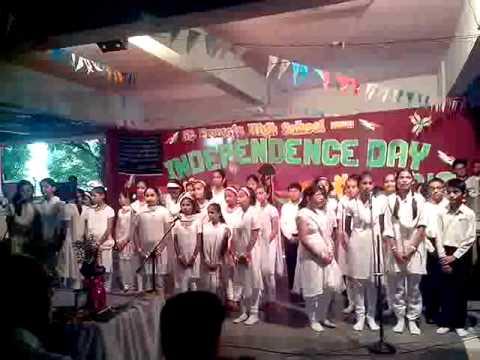 Aye Watan Tere liye(Karma) by ST.Francis High School Vasai (...