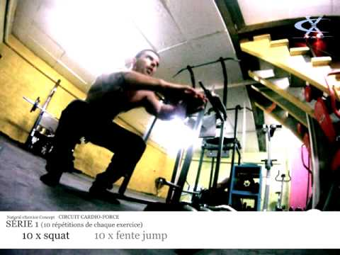 Circuit training cardio-force NXC - crossfit 1 round Image 1