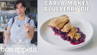 Carla Makes Blueberry-Ginger Pie | From the Test Kitchen | Bon Appétit