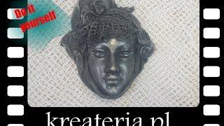 Jak zrobić maskę techniką utwardzaczy Powertex - kreateria.pl- KreaCraftShow008