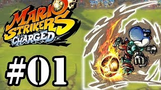 Let's Play : Mario Strikers Charged - Parte 1