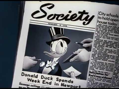 Donald Duck:  Donalds Dilemma 1947