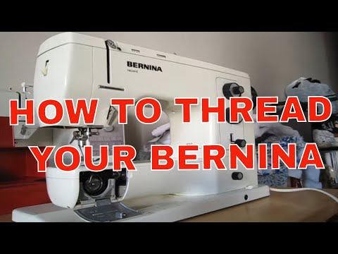 Bernina 830 Record - How To Thread