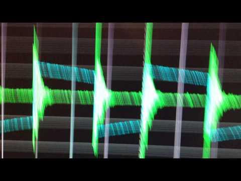 Работа доменов и форма сигнал Исследование фонарика 30W