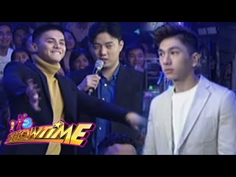 It's Showtime Miss Q & A: Ronnie, Ryan and Nikko dance to