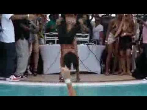 Dwight Howards Baby Mama Booty Shakin @ Owens Pool Party - freemixtapez.com
