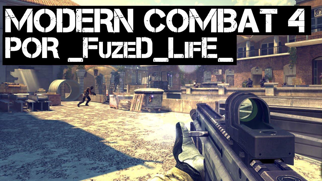 ng ios modern combat 4 gameplay por fuzed life 1