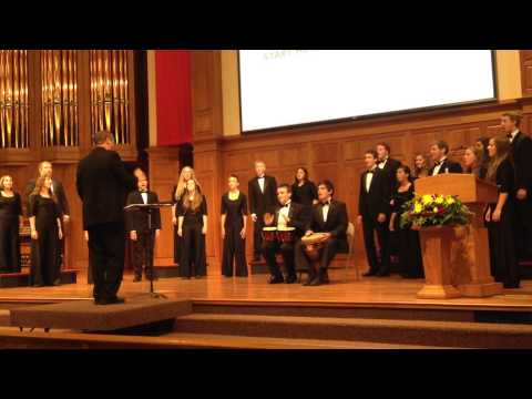 Hesston College Bel Canto Singers at Opening Celebration 2014