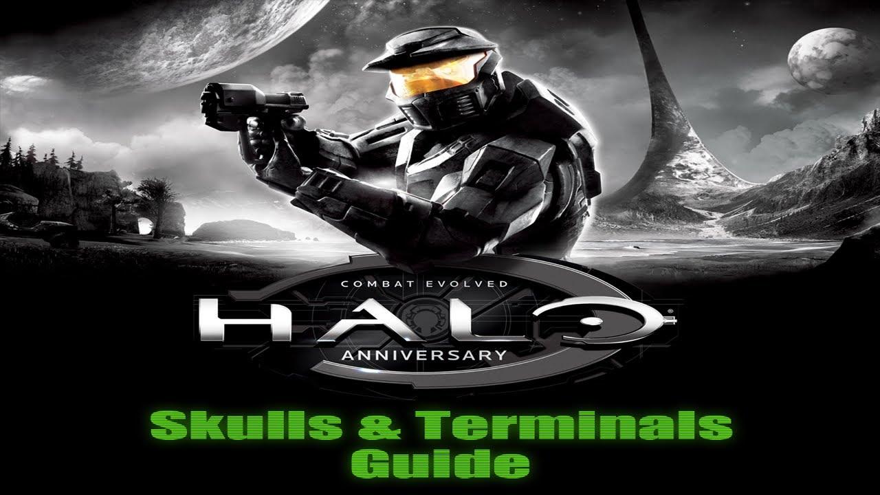 Halo combat evolved anniversary skulls