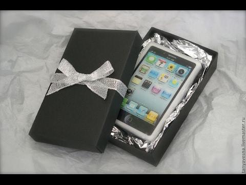 Как упаковать телефон для подарка 233
