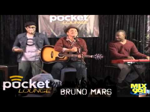 Mix 96.1 Live Music Lounge - Bruno Mars - Baby (Justin Bieber Cover) (Full Clip)