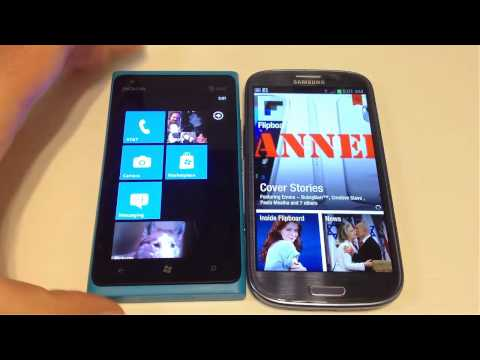 Samsung Galaxy S3 vs. Nokia Lumia 900 Comparison Review