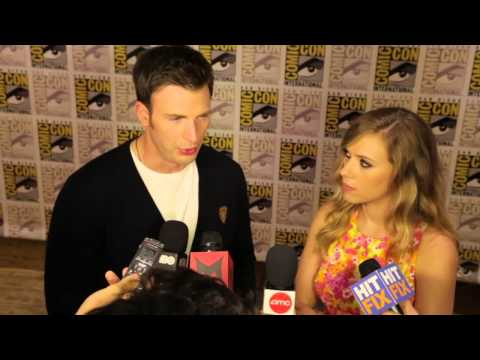 Captain America: The Winter Soldier- Chris Evans & Scarlett Johansson Interview