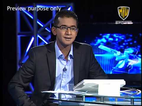 Shaq One on One with Kumar Sangakkara- Part 1