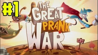 The Great Prank War - Walkthrough 1080p Part 1 (iOS)