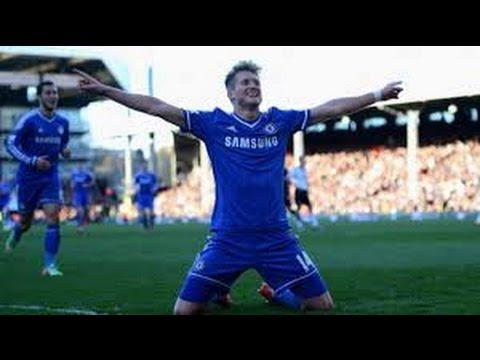Andre Schurrle Goal 1:2 Chelsea Vs Burnley (Premier League) 2014-2015 HD