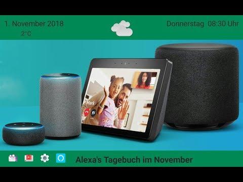 Alexa - Tagebuch vom 1. November