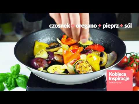 Stek Z Polędwicy Wołowej Grillowanymi Warzywami