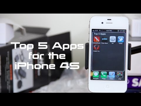 Top 5 Applications for iPhone 4S 2012