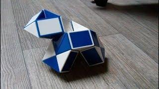 Rubik's snake or Rubik's twist - How to make a baby turtle