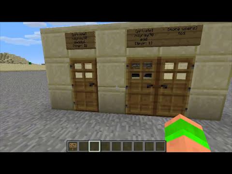 Minecraft Bukkit Plugin - Lockette - Lock door, chest, furnace - Chest Protection