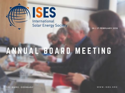 ISES Board Meeting