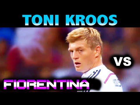 Toni KROOS vs FIORENTINA Friendly Match ( 16 - 08 - 2014 / 16.08.2014 ) [HD]