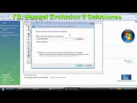 Instalacion de Drivers para Huawei Evolucion II