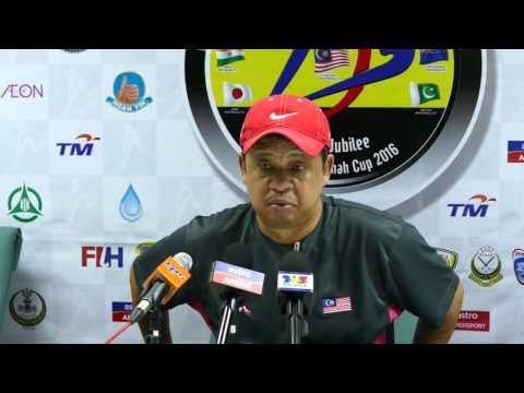 Malaysia press conference post 6 1 loss to India. Azlan Shah cup mens hockey 2016